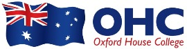 Oxford House College – OHC Cairnsロゴ