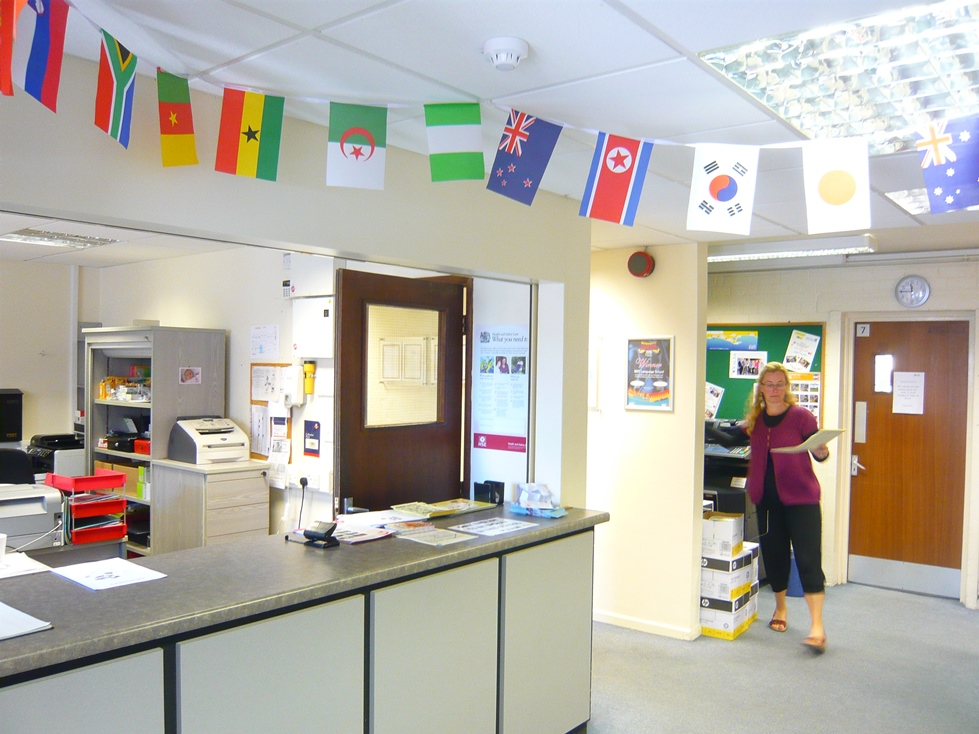 beet language centre reception